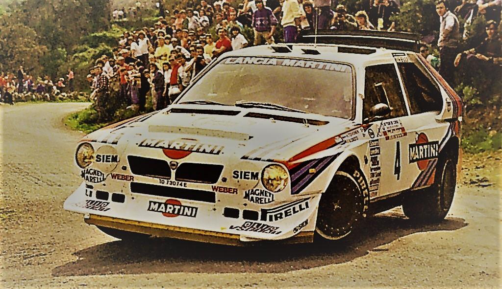 ランチアデルタS4 WRC「グループB」狂気のマシンとは?