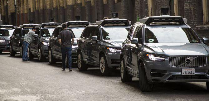 UberのボルボXC90