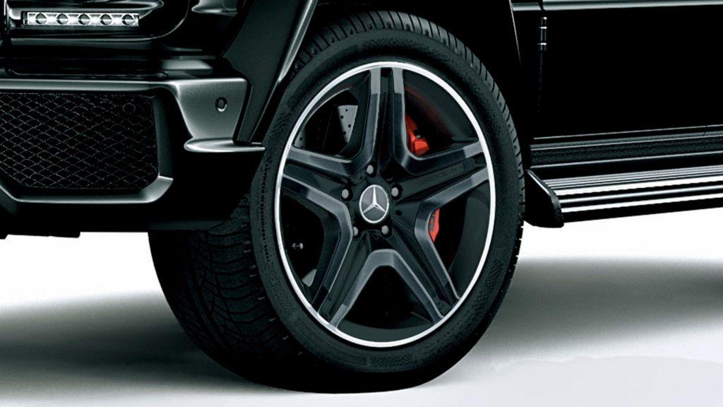 Gクラス(ゲレンデ)タイヤサイズ