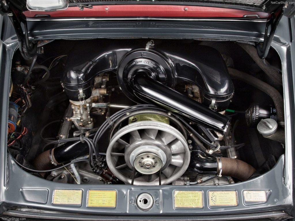 ポルシェの空冷エンジン