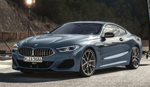 """新型BMW8シリーズクーペの""""内装""""最新情報!後部座席は狭い?"""