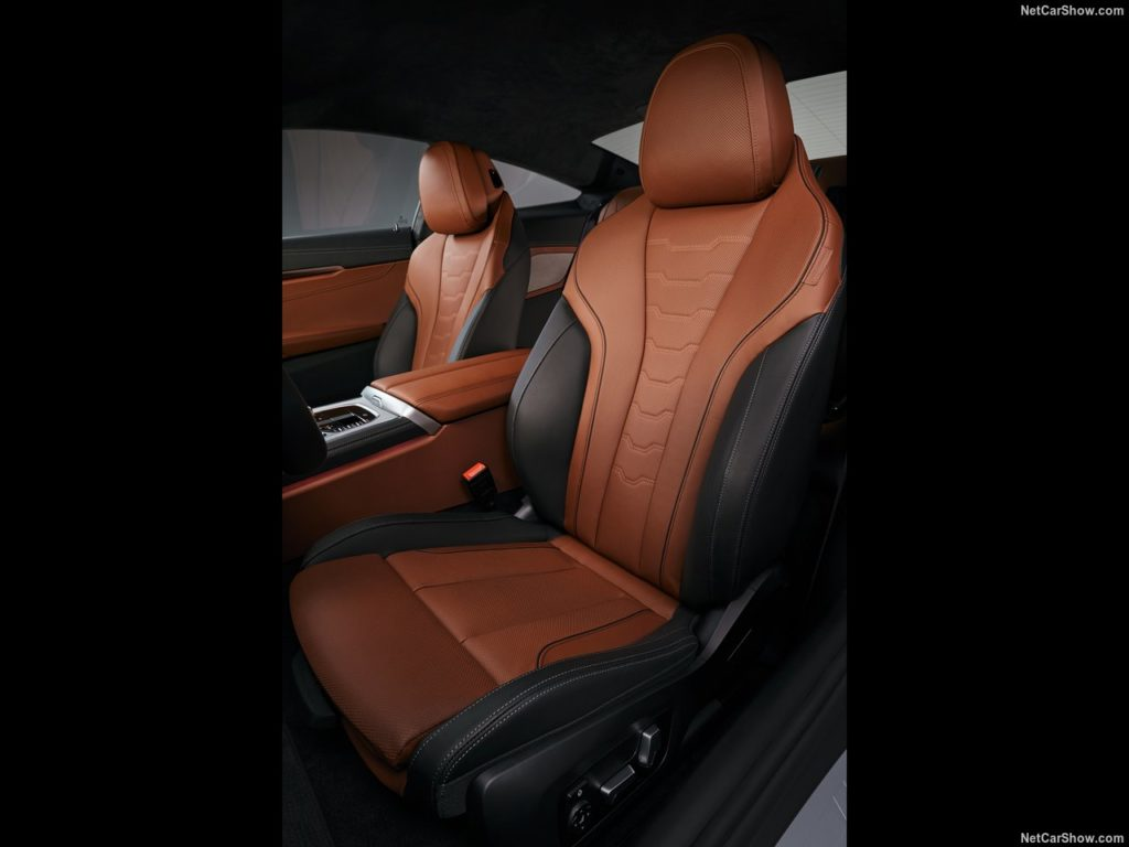 BMW8シリーズクーペ 内装 シート
