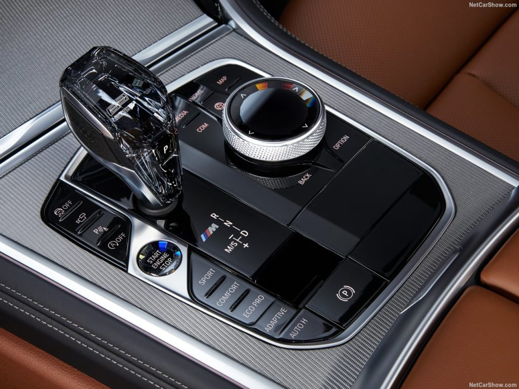 BMW8シリーズクーペ 内装 シフトレバー