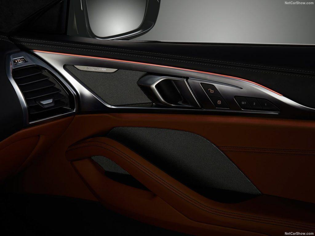 BMW8シリーズクーペ 内装 ドア