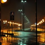 雨の日の夜の運転