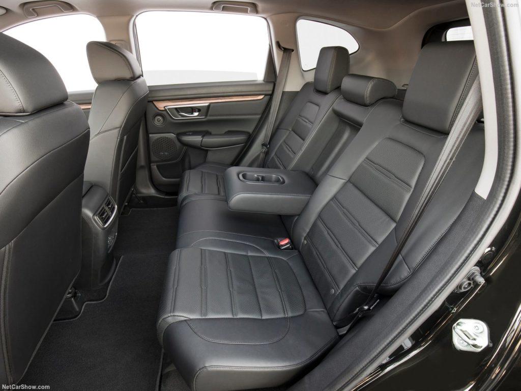 新型CR-Vの内装