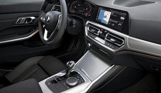 新型BMW 3シリーズG20の内装最新画像!フルデジタルメーターを採用?
