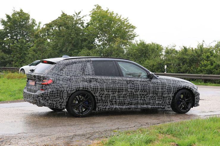 新型BMW3シリーズツーリングワゴンG21のスパイショット