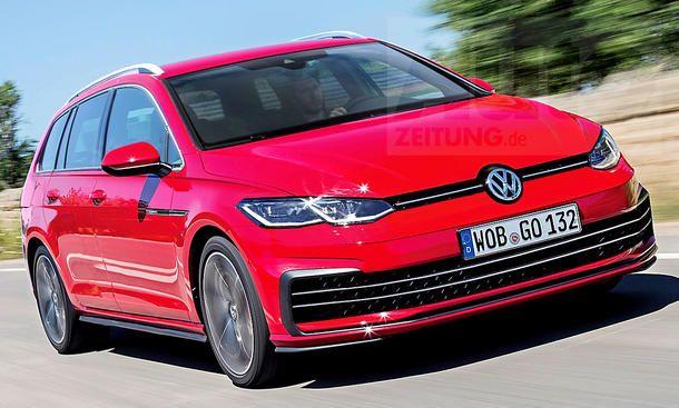 VW新型ゴルフ8ヴァリアント