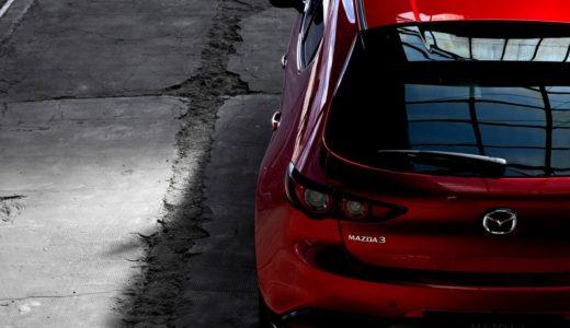 新型Mazda3の内装はシンプルだが上質!液晶は小さいような気も…