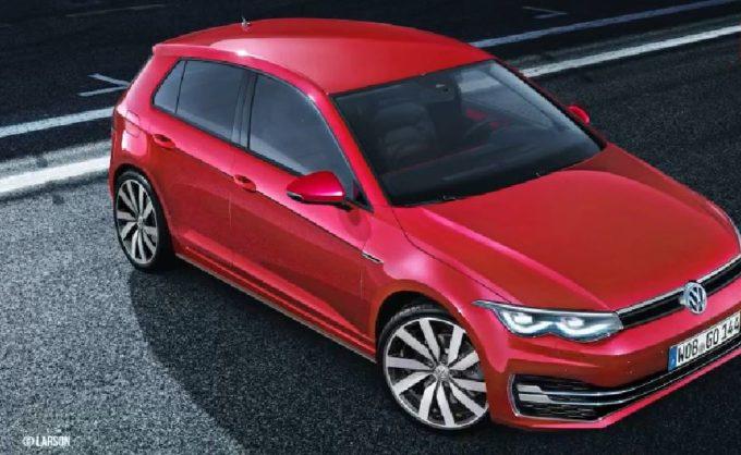 VW新型ゴルフ8の予想画像