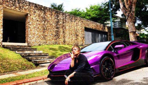 GACKTの歴代愛車まとめ!今の車は紫のエヴァ仕様のランボルギーニ?